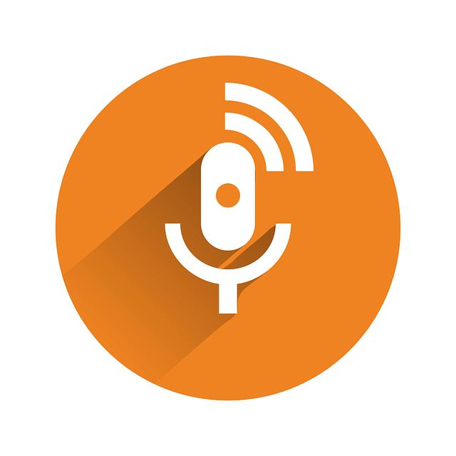 Symbol für ein Podcast